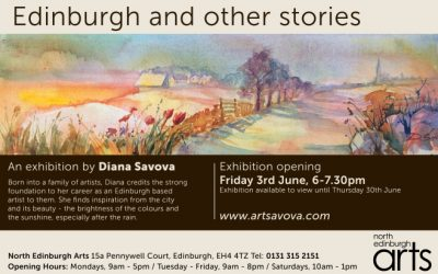Solo Exhibition at North Edinburgh Arts