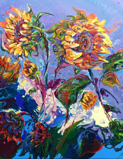 Sunflowers.60x60
