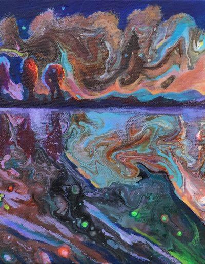 Sunset, 50x20cm, £360