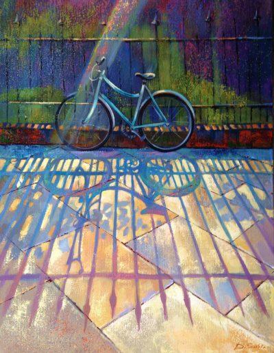 Princess street, 60x45cm, acrylic on canvas