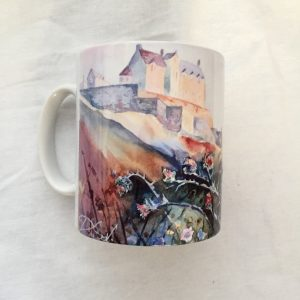 Edinburgh castle mug