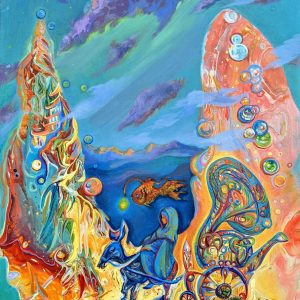 Original Oil Painting Fantasy Art Edinburgh